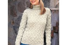 Free Sweater Knitting Patterns / Free sweater knitting patterns to download. Find knit patterns for lace sweaters, cabled sweaters, Aran sweaters, oversized sweaters, chunky sweaters and more!