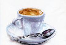 caffè e vino