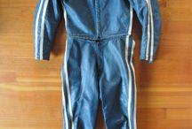 Vintage race suits