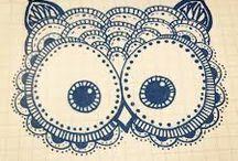 Owl art♥