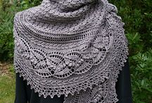 gebreide sjaals