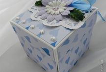 коробочка скрапбукинг