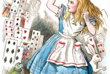 John Tenniel's Alice in colour ! / One of my favourite artists!!