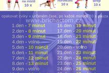 cvičení hubnutí