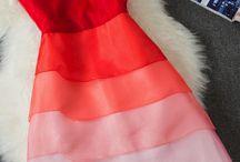 dyed chiffon dresses