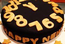 New Year's Eve cake / New Year's Eve cake