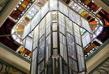 Фонарь Жак Симон Библиотека Карнеги в Реймсе © Carmen Moya 2012