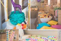 Anniversaires / Des petits mondes pour les anniversaires des enfants