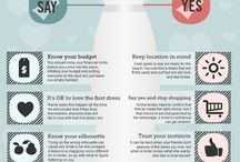 Wedding Infographics / Easy to read, straightforward, interesting & helpful!