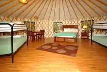 Yurts- Argentina. School Activity Holidays. / Activity and yurt camping holidays for kids.