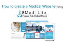 How to create a Medical Website using 8Medi Lite