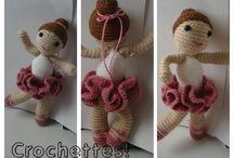 Marth Attacks (my creations) / Crochet & polimer clay