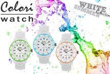 ΝΕΑ μοντέρνα χρωματιστά ρολόγια COLORI!