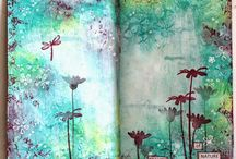 Journals from the heart / I love writing in my journal, it helps me grow, reflect and create