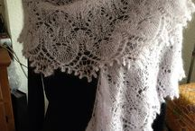 Lace, sjal