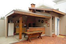 cozinha para terraço
