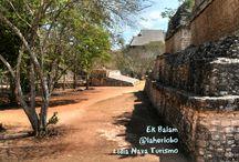 Ek Balám / Zona Arqueológica Ek Balam en Yucatán / by Lidia Nava Turismo