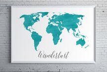 World map / In attesa di te vediamo un po' cosa c'è in giro!