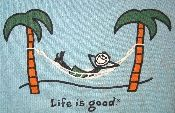 Life Is Good / Life is Good t-shirts and other things that make your life special from Vintage Basement - www.vintagebasement.com