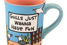 'Punny' Mugs
