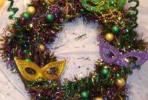 Mardi Gras / Deco Ideas & items for mardi gras celebration
