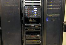 Media Racks / Most systems Hi-Fidelity designs and installs goes to a central location with a media rack. These racks contain the brain of the entire media system.