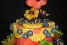 διακόσμηση με φρούτα