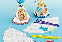 KIDS-INDIANS CRAFTS