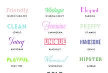 Fonts&backgrounds&patterns