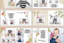 kids photo album design