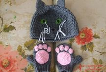 crochet scarfs, hoods and more