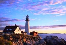 LIGHTHOUSES / by Peggy Watson