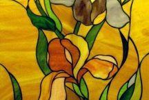 Witraże szkło mozaiki