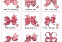 DIY BOWS / by Susan Townson