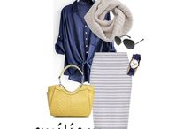 Outfits / Looking for a little outfit inspiration?  / by Emilie M. Handbags