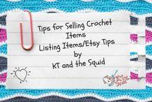 CROCHET SELLING TIPS