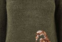 Embroidery Clothes / Brooches