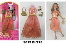 2013 Barbie Doll Fashion Packs