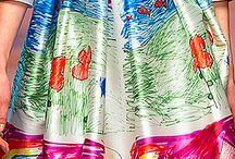 Beautiful fabrics / Piękne tkaniny