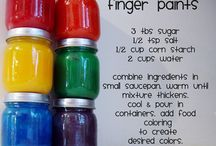 Crafts for the kids / Finger paints