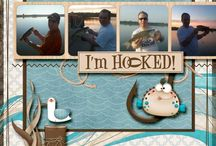 Scrapbooking - Fishing