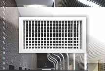 ACP Products - Ventilation Grilles / Ventilation grilles are HVAC equipment use in ventilation system for air supply or/and exhaust.
