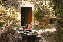 Outdoor dining / by Janine Memon Dietz