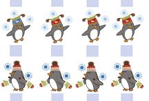 didaktické pomůcky / tučňáci a polární kruh
