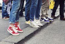 SNEAKERS / esta son sólo algunas de las bellezas para los pies que proporcionan además comodidad... soy una enamorada de las zapatillas sportwear.