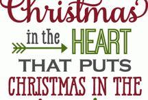 Kerst Silhoutte