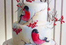 Birds cakes