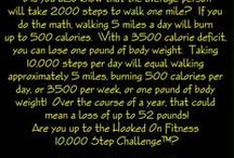 Get Fit!  / Pins that motivate you towards a healthier lifestyle