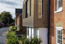 Residential Development_Ivanhoe Terrace / Residential development in Winchester, Hampshire, UK Photography: martingardner.com