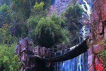 Waterfalls / Flowing water  / by Dale Harpole